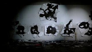 drawing wall, Wesley Kimler