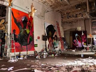 studio shot, Wesley Kimler