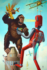 King-Kong VS The Atomic Robot, Geoffrey Gersten
