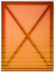 X(Orange and Red), Rebecca Ward