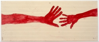 10 AM IS WHEN YOU COME TO ME,  (detail) , Louise Bourgeois