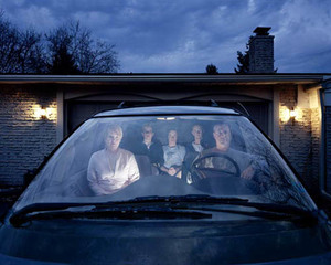 Family in SUV, Julie Mack