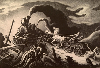 Wreck of the Ol\' 97, Thomas Hart Benton