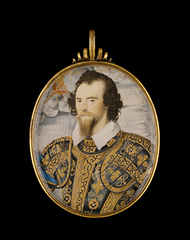 Portrait of George Clifford, Third Earl of Cumberland, Nicholas Hilliard