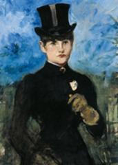 Horsewoman, Fullface (detail) , Édouard Manet
