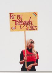 For My Transgender Sisters (May Day March, Los Angeles, 2012) , Andrea Bowers