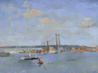 Tug, East River, Laura Adler