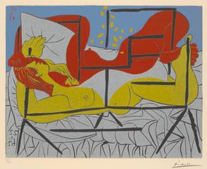 Danaë, Pablo Picasso