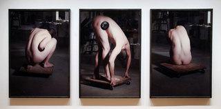 Model in the Sculptor\'s Studio, Chris Curreri