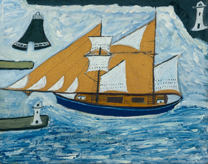 The Blue Ship , Alfred Wallis