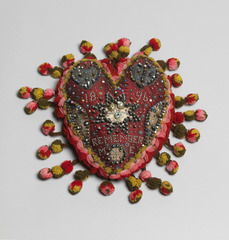 Heart Pincushion, Artist unknown
