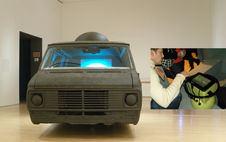 Ant Farm Media Van v.08 [Time Capsule] (Installation view in The Art of Participation: 1950 to Now, SFMOMA, 2008), Bruce Tomb, Chip Lord, Curtis Schreier