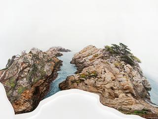 Response to Print of Cypress Point, California, Laura Plageman