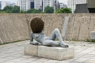 Liegender Frauenakt (Untilled 2011-2012), Pierre Huyghe