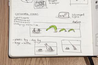 Fantastic Voyage Sketchbook, Slinkachu