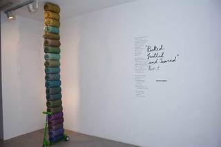 Installation View, Princess Pea
