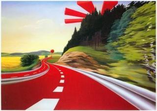 Durchreiselandschaft (Sommer), Peter Berndt