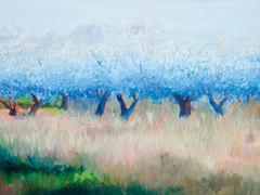 20141016161522-sally_ruddy_ooh_la_la_bleu_30_x_40__36_x_46_framed__oil_on_canvas