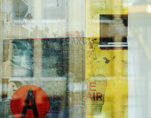 Window_reflection_series_-_nyc_yellow_-_copyright_anahi_decanio