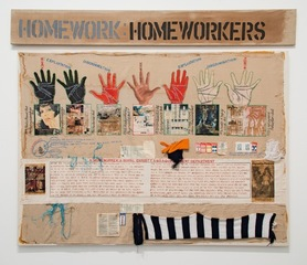 Homeworkers, Margaret Harrison