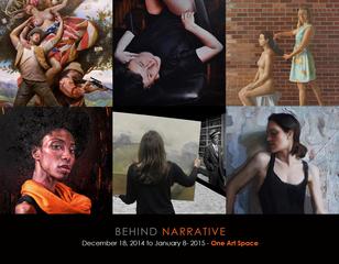 """behind Narrative"", Tim Okamura, Victoria Selbach, Marshall Jones, Adam Miller, Kristin Künc, Izabela Gola"