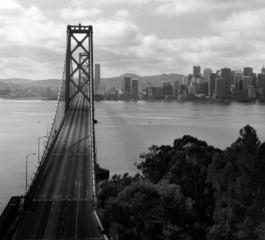 Bay Bridge View from Yerba Buena Island, San Francisco, Steve Hanson