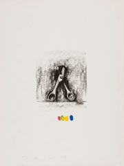 from \'Ten Winter Tools (Handcolored)\', Jim Dine