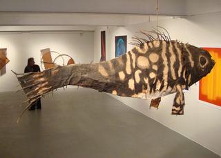 View of exhibit,