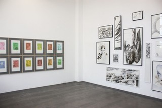 exhibition view, Hanna Nitsch, Reinhold Engberding
