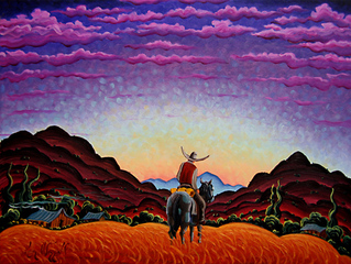Sunset Along the Hondo, Kim Wiggins