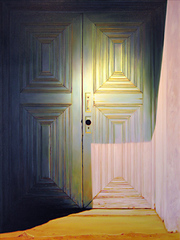 Chapel Door, New Mexico, Roger Hayden Johnson