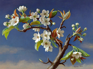 Pear Blossoms, Grace Kim