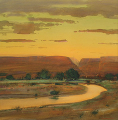 Summer Sunset, NM, Tom Perkinson