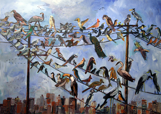 Birds on a Wire, John Kilduff