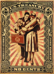 Proud Parents,Shepard Fairey