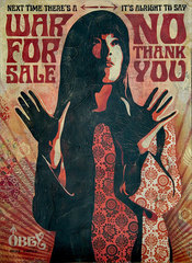 War For Sale,Shepard Fairey