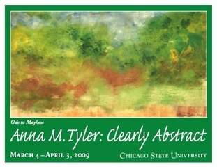 Clearly Abstract solo exhibition, Anna M. Tyler