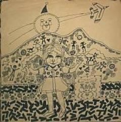 Christmas (Girl with airplane), , John Tweddle