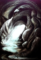 Cave II, Cathie Bleck