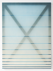 X (cream and blue), Rebecca Ward