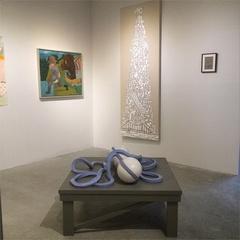 A Tangled Web - installation view , D. Dominick Lombardi, John Richardson, Victor Matthews