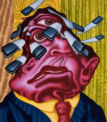 Stuck , Peter Saul