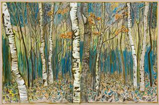 birch wood, Billy Childish