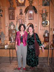 Ruth & Cidne in 2006 exhibition,