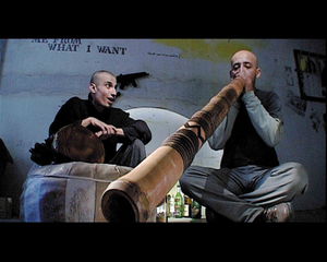 "still from the video ""Idlers\' Logic"", Khaled Hafez"