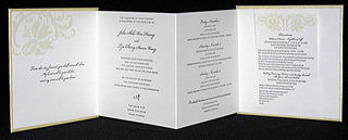 Accordion Invitation by Mindy Beloff,
