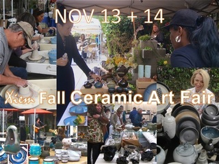 Xiem Fall Ceramic Art Fair and Open Studio Sale, Xiem Studio Artists and Invited Guests