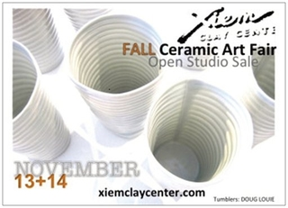 Xiem Ceramic Art Fair and Open Studio Sale, Xiem Studio Members and Invited Artists