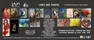 LINES AND SHAPES, Group Show
