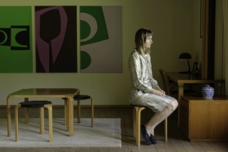 Salon, part 1, from series Les Femmes de la Maison Carré, Elina Brotherus
